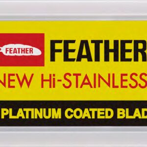 Hojas de Afeitar Doble Filo Feather