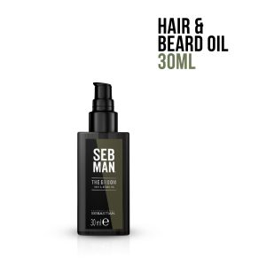 Aceite para Cabello y Barba The Groom – SEB MAN
